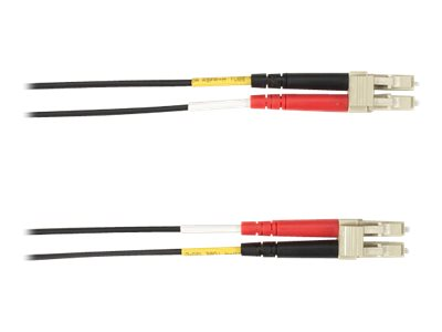 Black Box patch cable - 1 m - black