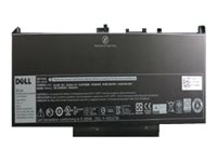 Dell Primary Battery - Kit - Laptop-Batterie - 1 x Lithium-Ionen 4 Zellen 55 Wh - für Latitude E7270, E7470