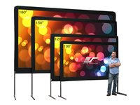 Elite Screens Yard Master Series OMS120H Projection screen with legs 120INCH (120.1 in) 16:9
