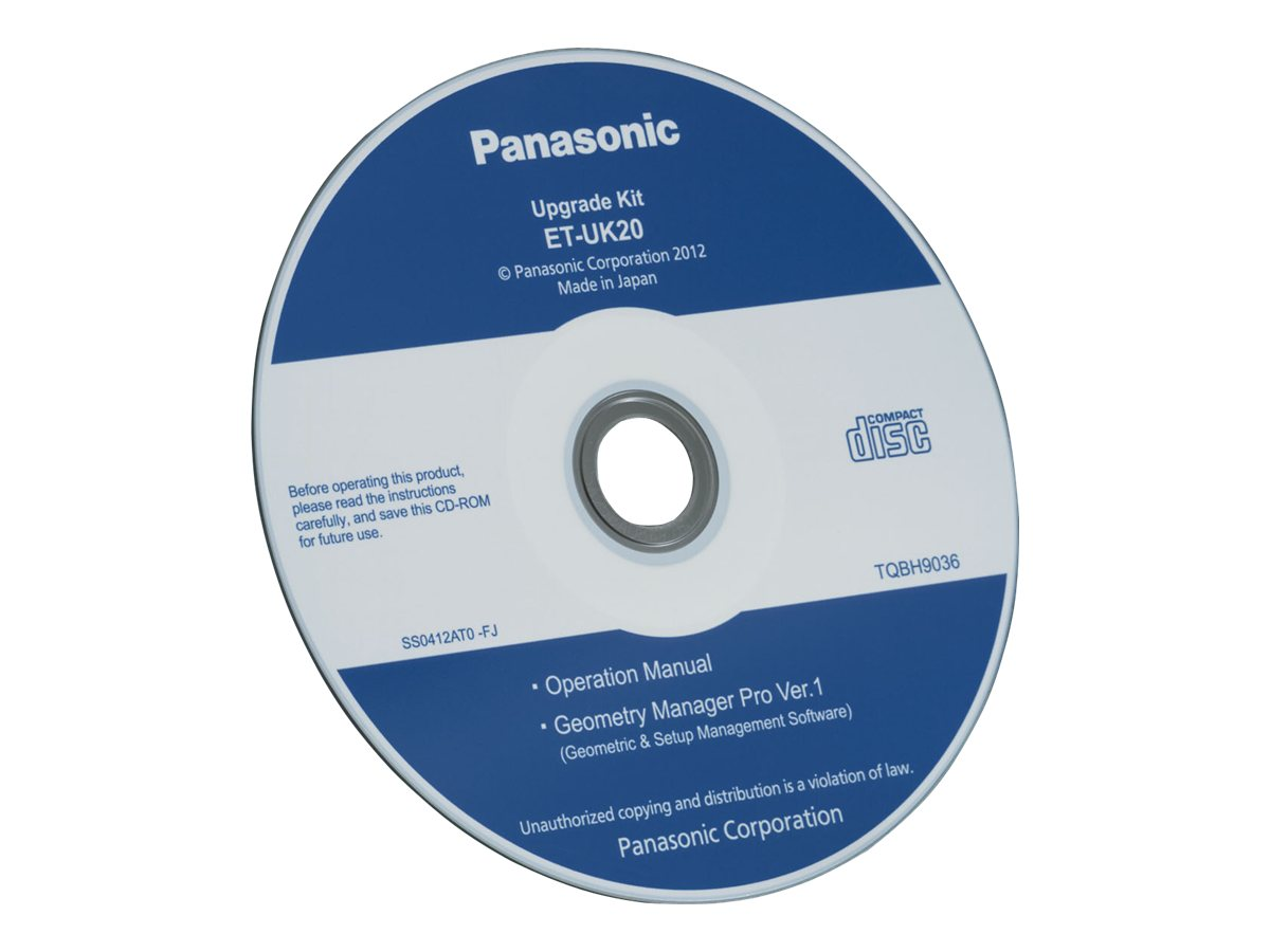 Panasonic Geometry Manager Pro Software Upgrade Kit - license and media - 1 license