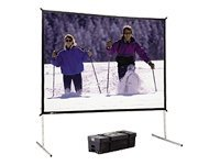Da-Lite Fast-Fold Deluxe Screen System Projection screen rear 4:3 High