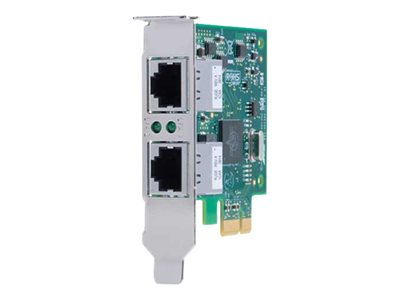 Allied Telesis AT-2911T/2 Network adapter PCIe 2.0 low profile Gigabit Ethernet x 2