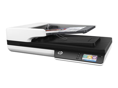 HP Scanjet Pro 4500 fn1 - document scanner - desktop - USB 3.0, Gigabit LAN, Wi-Fi(n)