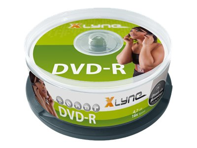 xlyne - 10 x DVD-R - 4.7 GB 16x - Spindel