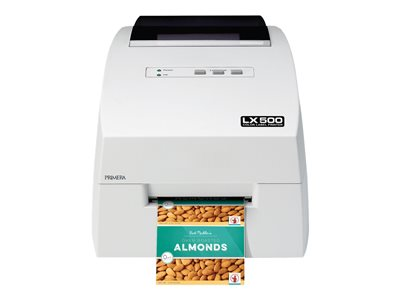 Primera LX500 Color Label Printer - Label printer - color - ink-jet - Roll (4.25 in) - 4800 x 1200 dpi - USB