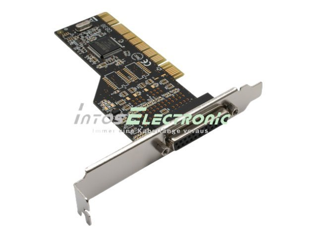 InLine Multi I/O Controller Card - Parallel-Adapter - PCI - IEEE 1284