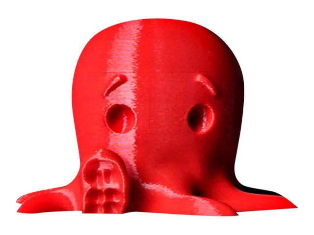MakerBot - 1 - true red - PLA filament