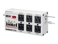 Tripp Lite Isobar Surge Protector Metal RJ11 6 Outlet 6FEET Cord 3330 Joules Surge protector