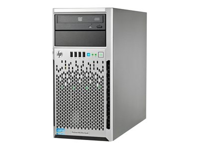 HPE ProLiant ML310e Gen8 Performance Server tower 4U 1-way 1 x Xeon E3-1240V2 / 3.4 GHz