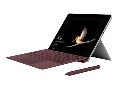 Microsoft TDSourcing Surface Go Signature Type Cover - keyboard - with trackpad, accelerometer - QWERTY - US - burgundy