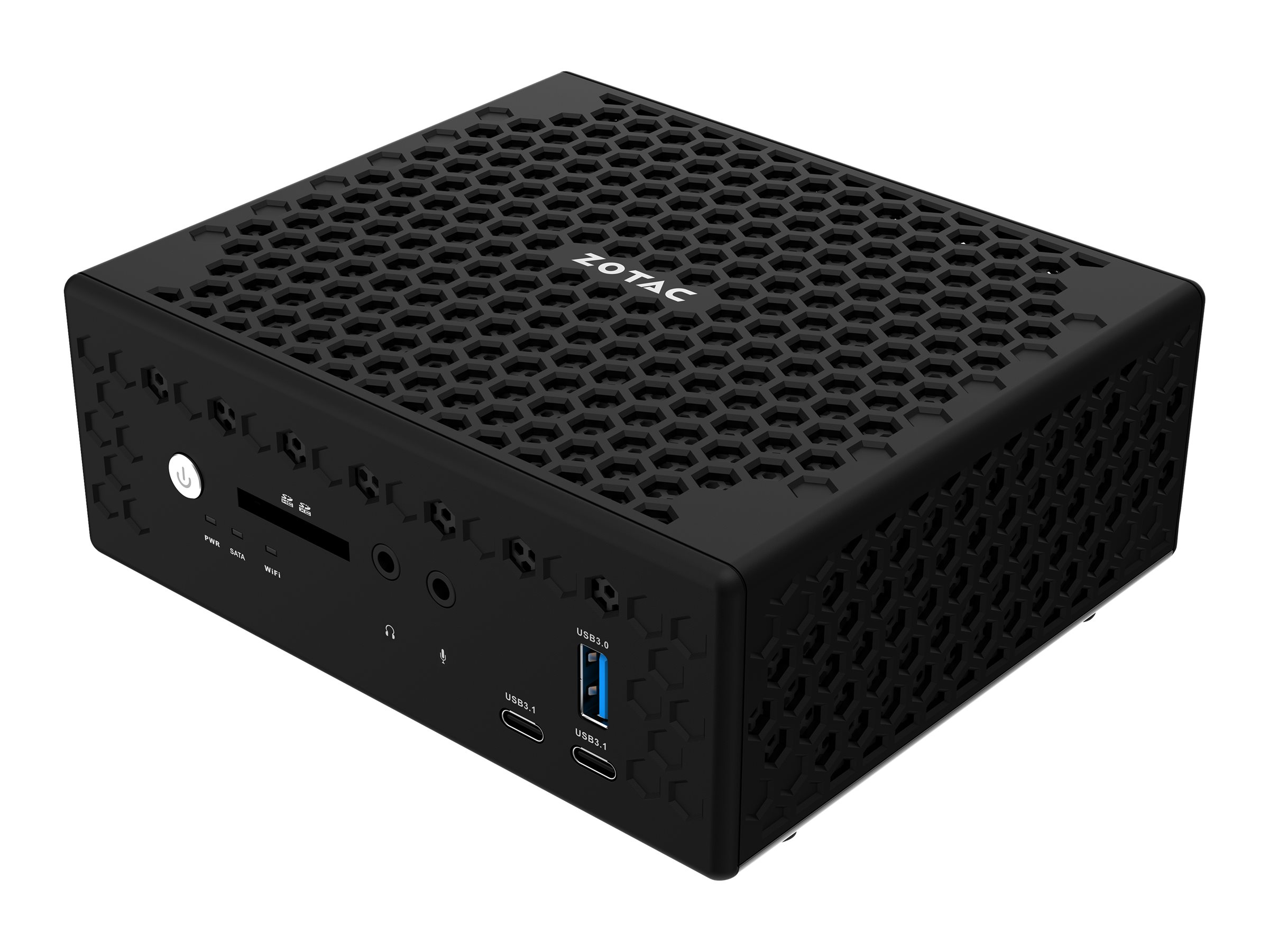 ZOTAC ZBOX nano CI523 - C Series - Mini-PC - 1 x Core i3 6100U / 2.3 GHz - RAM 0 MB - kein HDD