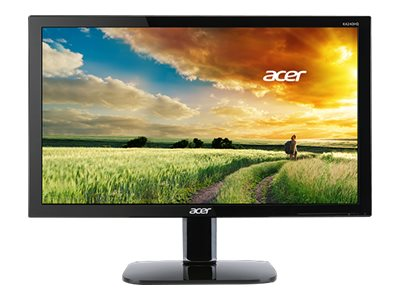 "Acer KA240HQ - Écran LED - 23.6"" - 1920 x 1080 Full HD (1080p) - TN - 300 cd/m² - 1 ms - HDMI, DVI, VGA - noir"