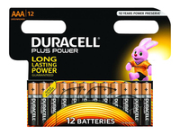 Picture of Duracell MN 2400 battery x AAA type - Alkaline (MN2400B12)