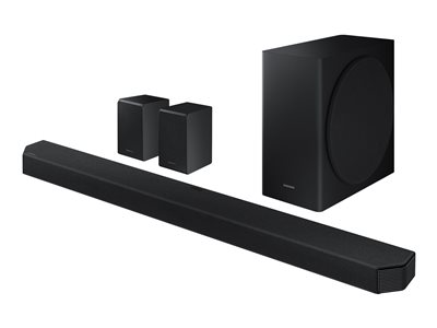 Samsung HW-Q950T - sound bar system - for home theater - wireless