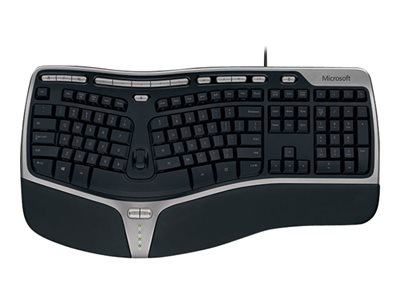 Microsoft Natural Ergonomic Keyboard 4000 for Business Keyboard USB English