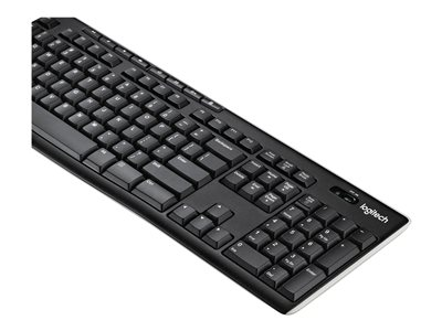 LOGITECH Wireless Keyboard K270 tastatur Russisk | CAS