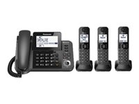 Panasonic KX-TGF383M Corded/cordless answering system with caller ID/call waiting