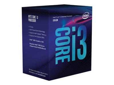 Intel CPU Core  I3-8350K 4GHz Quad-Core LGA1151
