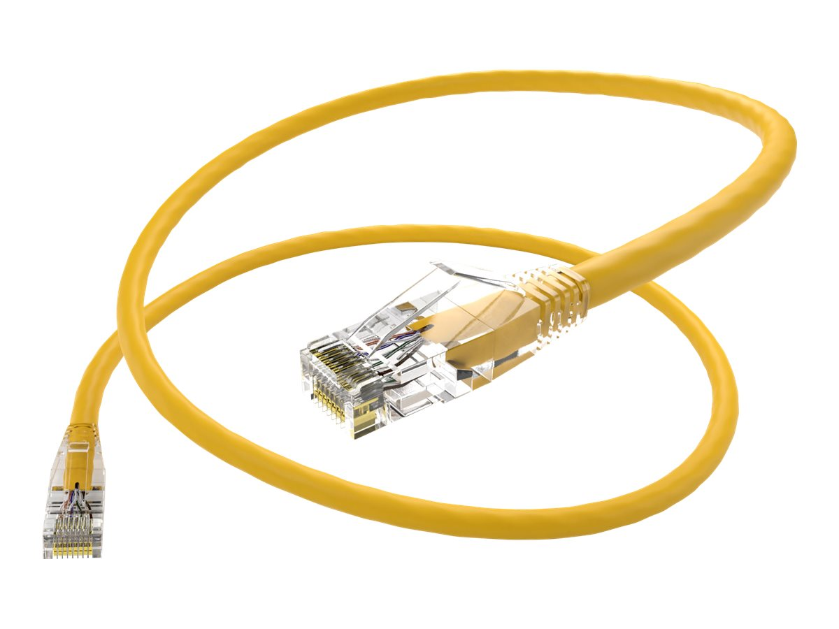 Oncore ClearFit patch cable - 60 cm - yellow