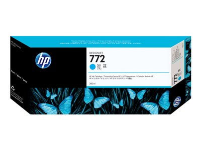 HP 772 300 ml cyan original DesignJet ink cartridge