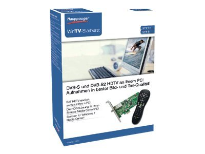 Hauppauge WinTV Starburst - Digitaler TV-Empfänger - DVB-S2 - HDTV - PCIe Low Profile