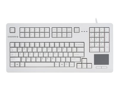 CHERRY MX11900 Keyboard AT, PS/2 English US light gray