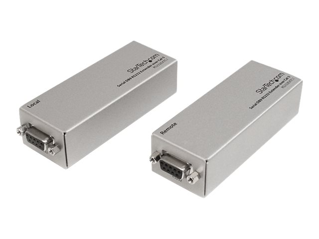 StarTech.com Serial DB9 RS232 Extender over Cat 5 - Up to 3300 ft (1000 meters) (RS232EXTC1) - serial port extender
