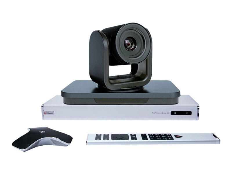 Poly RealPresence Group 500-720p with EagleEye IV 4x Camera - video conferencing kit