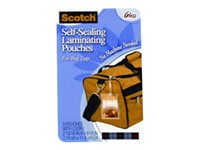 Scotch 5-pack ultra clear 71 x 116 mm self-seal lami