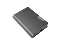 Lenovo USB-C Laptop Power Bank - Power bank - 1 x 14000 mAh 48 Wh - Worldwide - gunmetal - for IdeaPad 5 15IIL05; ThinkPad 11e Yoga (6th Gen); E14; E15; L13; Yoga Slim 7 14IIL05