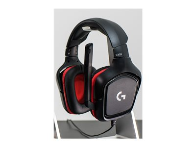 Logitech Gaming Headset G332 Kabling Rød Sort Headset