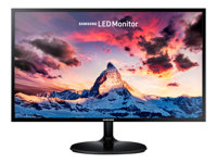 "Samsung SF350 Series S27F350FHU - Écran LED - 27"" - 1920 x 1080 Full HD (1080p) - Plane to Line Switching (PLS) - 250 cd/m² - 1000:1 - 4 ms - HDMI, VGA - noir brillant"