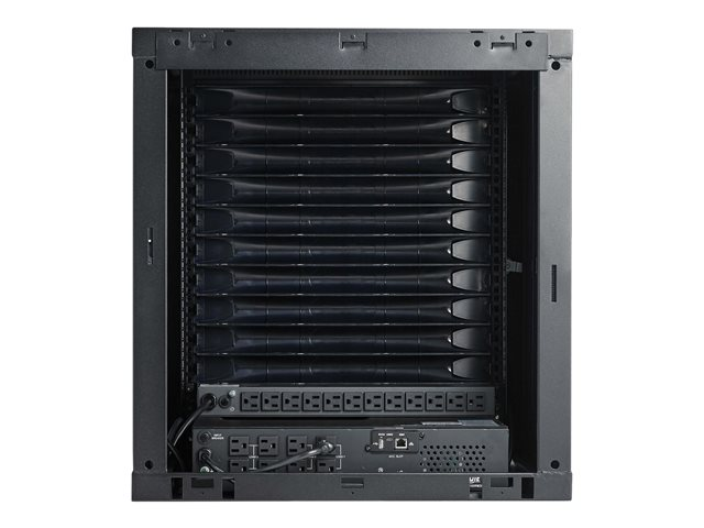 Tripp Lite EdgeReady Micro Data Center - 9U, Wall-Mount, 1.5 kVA UPS, Network Management and PDU, 230V Kit - Rack - cabinet - floor-standing - 9U - 19