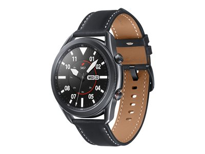 Samsung Galaxy Watch 3 - mystic black - smart watch with band - 8 GB - not specified