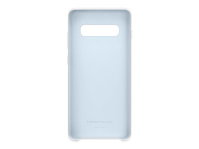 Samsung Silicone Cover Beskyttelsescover Silicone Hvid