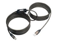 Tripp Lite 25ft USB 2.0 Hi-Speed Active Repeater Cable USB-A to USB-B M/M 25'