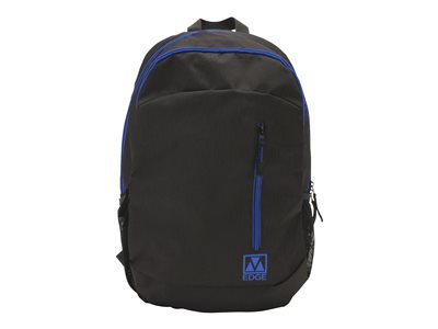 M-Edge Flex Backpack with Battery Notebook carrying backpack 15INCH black/blue