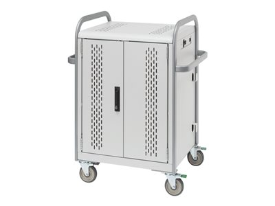 Bretford Store & Charge Cart for 30 tablets aluminum, steel