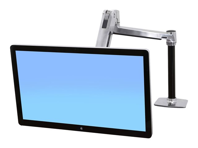 Image of Ergotron LX HD Sit-Stand Desk Mount LCD Arm - desk mount