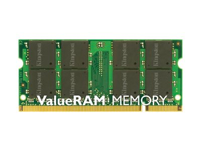 Kingston ValueRAM - DDR2 - 2 GB - SO DIMM 200-PIN - 800 MHz / PC2-6400 - CL6