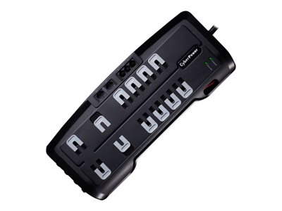 CyberPower Home Theater Series CSHT1208TNC2 Surge protector AC 125 V ou