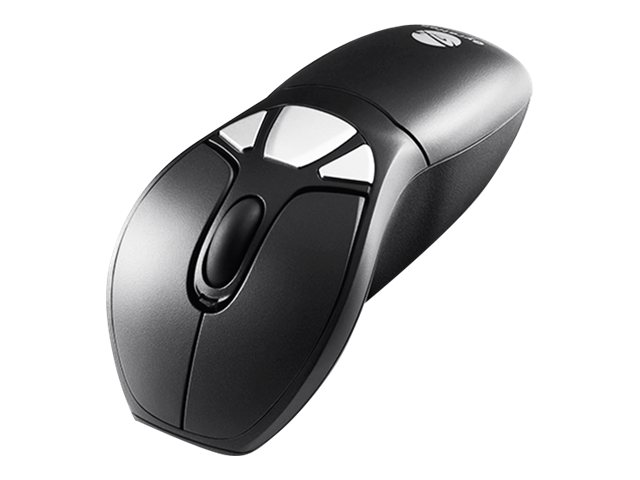 Gyration Air Mouse GO Plus - Mouse - optical / gyroscopic - wireless - 2.4 GHz - USB wireless receiver - GSA Trade Compliant