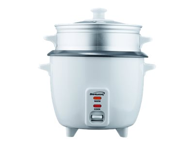 Brentwood TS-480S Rice cooker/steamer 900 W white