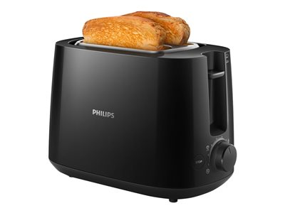 Philips Daily Collection HD2581 Brødrister 830W Sort