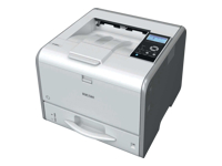 Ricoh SP 3600DN - Printer - monochrome - Duplex - LED - A4 - 1200 x 1200 dpi - up to 30 ppm - capacity: 350 sheets - USB 2.0, LAN