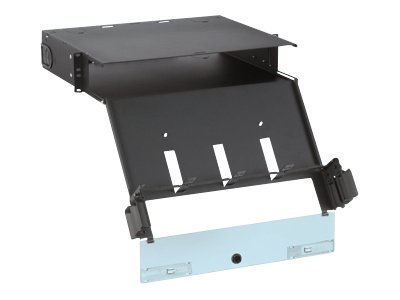 Panduit Opticom QuickNet Rack Mount Fiber Cassette Enclosure - patch panel housing - 2U - 19""