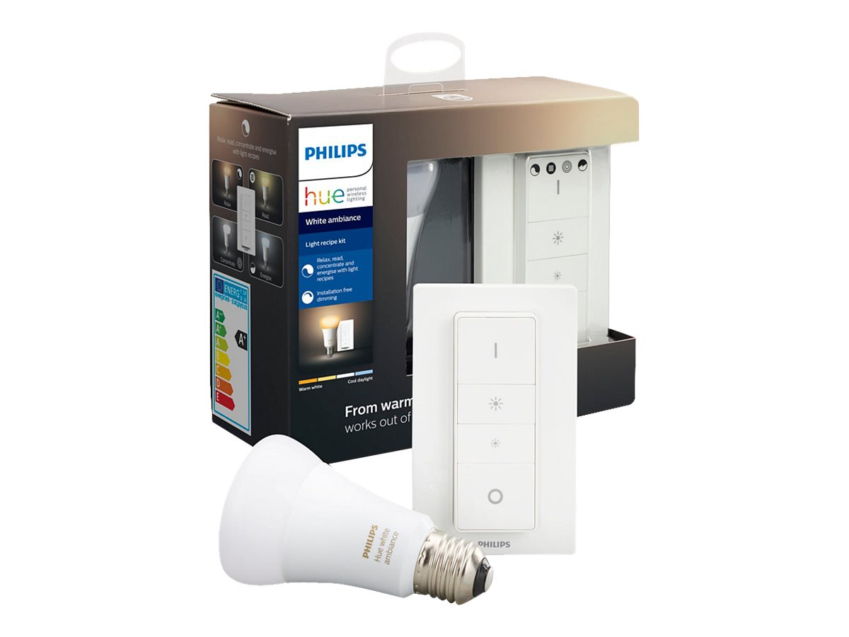 Philips Hue White ambiance Light recipe kit | In stock