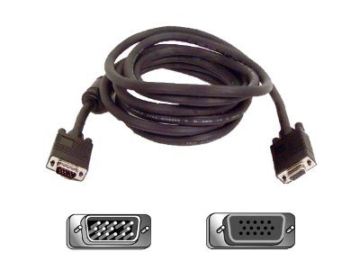 Belkin PRO Series High Integrity - VGA extension cable - 15 ft