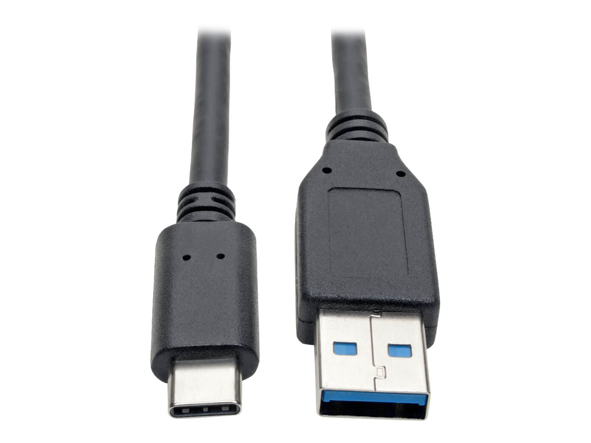 Tripp Lite USB C to USB-A Cable 5 Gbps USB 3.1 Gen 1 M/M USB Type C 6ft 6' - USB-C cable - 1.8 m