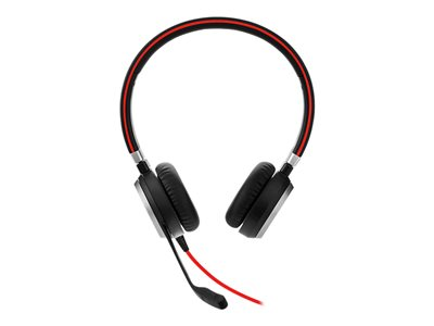 Jabra Evolve 40 Stereo Kabling Sort Headset